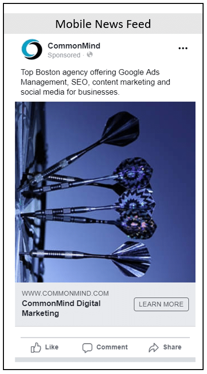 facebook mobile news feed ad