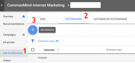 Add Location Extension in Google Ads