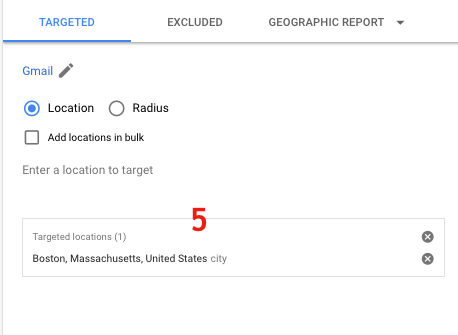 Use Radius Targeting to Target an Area Surrounding a Specific Address